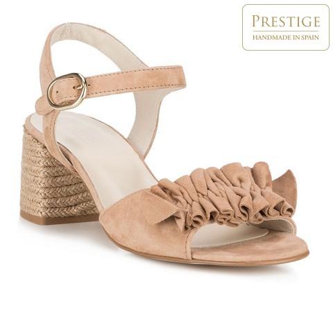 Buty damskie, beżowy, 88-D-450-3-36, Zdjęcie 1