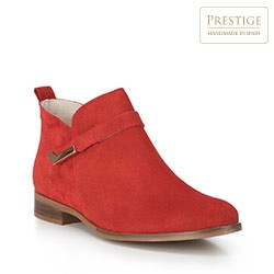 Women's shoes, red, 88-D-460-3-35, Photo 1