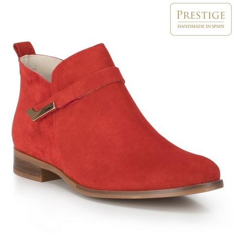 Buty damskie, czerwony, 88-D-460-3-35, Zdjęcie 1