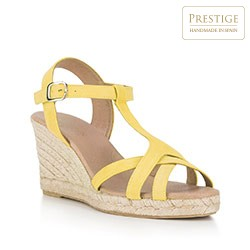 Buty damskie, żółty, 88-D-502-Y-38, Zdjęcie 1