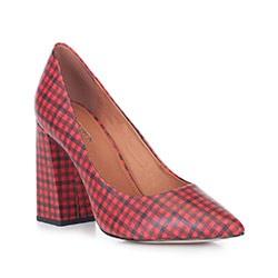 Buty damskie, czerwono - czarny, 88-D-550-3-37, Zdjęcie 1
