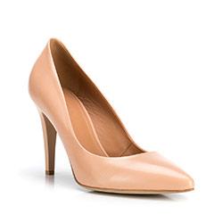 Buty damskie, beżowy, 88-D-600-9-38, Zdjęcie 1