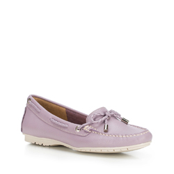 Women's moccasins, light violet, 88-D-700-F-41, Photo 1