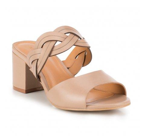 Buty damskie, beżowy, 88-D-715-9-35, Zdjęcie 1