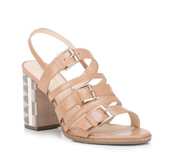 Buty damskie, beżowy, 88-D-751-9-37, Zdjęcie 1