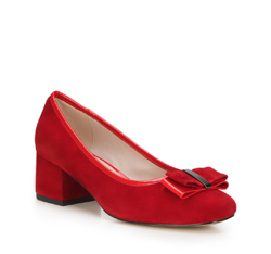 Women's shoes, red, 88-D-954-3-35, Photo 1