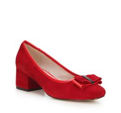 Buty damskie, czerwony, 88-D-954-3-37, Zdjęcie 1