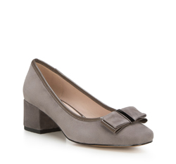 Women's shoes, grey, 88-D-954-8-36, Photo 1