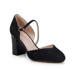 Buty damskie, czarny, 88-D-955-1-38, Zdjęcie 1