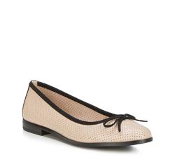 Buty damskie, beżowo - czarny, 88-D-959-9-39, Zdjęcie 1