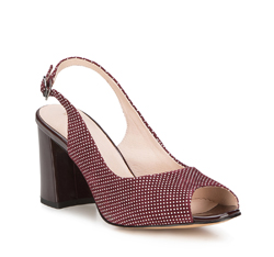 Women's shoes, burgundy, 88-D-966-2-36, Photo 1