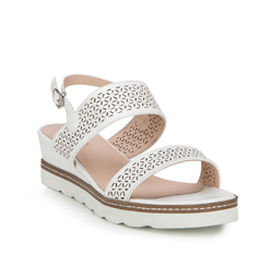 Women's sandals, white, 88-D-970-0-37, Photo 1