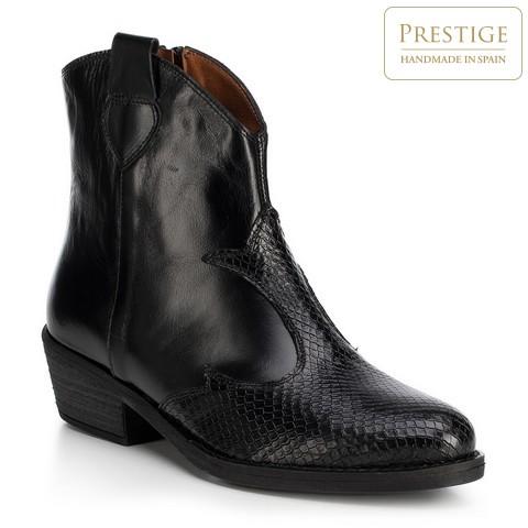 Buty damskie, czarny, 89-D-455-1-35, Zdjęcie 1