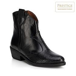 Buty damskie, czarny, 89-D-455-1-38, Zdjęcie 1
