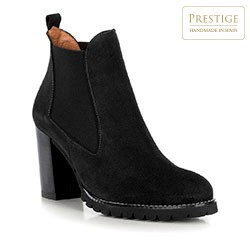 Buty damskie, czarny, 89-D-457-1-40, Zdjęcie 1