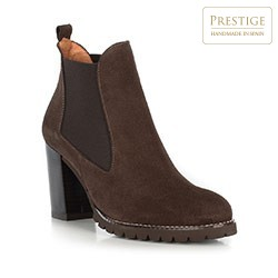 Women's ankle boots, brown, 89-D-457-4-38, Photo 1