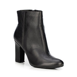 Ankle boots, black, 89-D-754-1-38, Photo 1