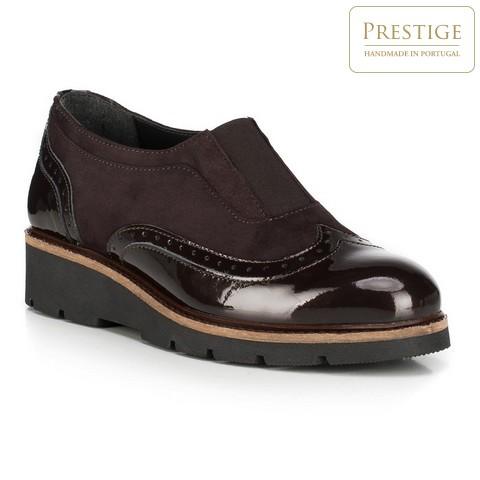 Buty damskie, Brązowy, 89-D-802-4-41, Zdjęcie 1
