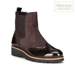 Buty damskie, brązowy, 89-D-803-4-38, Zdjęcie 1