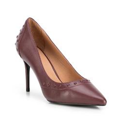 Buty damskie, bordowy, 89-D-900-2-36, Zdjęcie 1