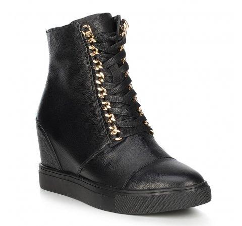 Buty damskie, czarny, 89-D-907-1-35, Zdjęcie 1