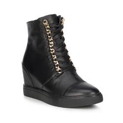 Buty damskie, czarny, 89-D-907-1-37, Zdjęcie 1
