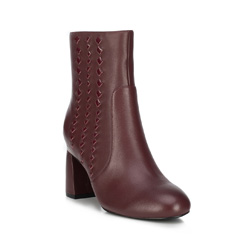 Women's ankle boots, burgundy, 89-D-909-2-39, Photo 1