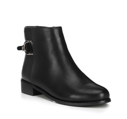 Buty damskie, czarny, 89-D-953-1-41, Zdjęcie 1