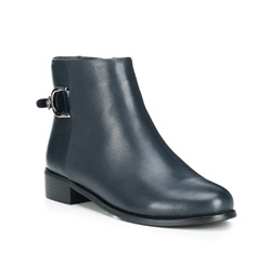 Women's ankle boots, navy blue, 89-D-953-7-35, Photo 1