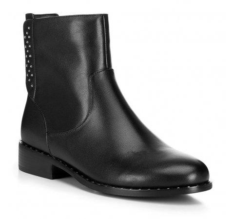 Buty damskie, czarny, 89-D-955-1-35, Zdjęcie 1