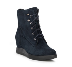 Women's shoes, navy blue, 89-D-959-7-40, Photo 1