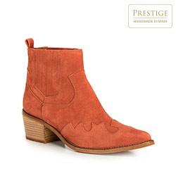 Women's shoes, brick red, 90-D-050-6-36, Photo 1