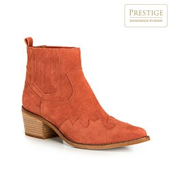 Women's shoes, brick red, 90-D-050-6-39, Photo 1