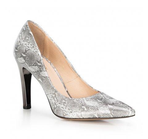 Buty damskie, srebrny, 90-D-200-S-39, Zdjęcie 1
