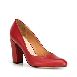 Women's shoes, red, 90-D-202-3-39, Photo 1