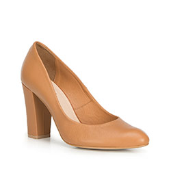 Women's shoes, light brown, 90-D-202-5-35, Photo 1