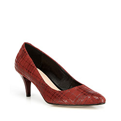 Buty damskie, czerwony, 90-D-203-2-35, Zdjęcie 1