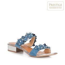 Buty damskie, błękitny, 90-D-250-7-37, Zdjęcie 1