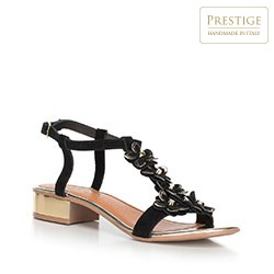 Women's shoes, black, 90-D-251-1-38, Photo 1