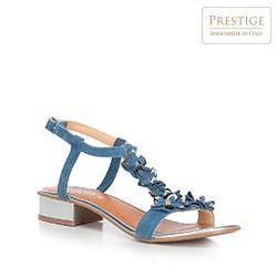 Women's shoes, sky blue, 90-D-251-7-38, Photo 1