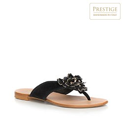 Women's sandals, black, 90-D-252-1-37, Photo 1