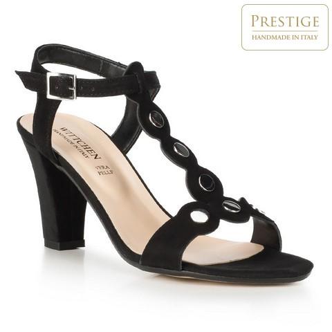 Buty damskie, czarny, 90-D-403-1-35, Zdjęcie 1