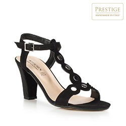 Buty damskie, czarny, 90-D-403-1-38, Zdjęcie 1