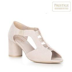 buty damskie, jasny beż, 90-D-650-9-38, Zdjęcie 1