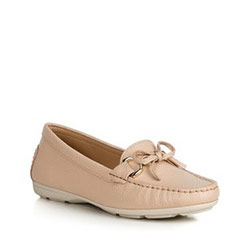 Women's moccasins, beige, 90-D-700-9-36, Photo 1
