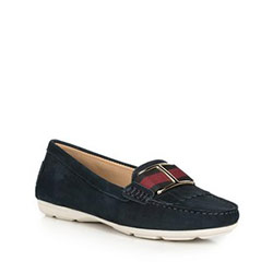 Women's moccasins, navy blue, 90-D-701-7-36, Photo 1