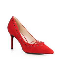 Buty damskie, czerwony, 90-D-902-3-39, Zdjęcie 1