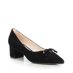 Women's court shoes, black, 90-D-903-1-35, Photo 1