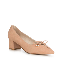 Women's court shoes, beige, 90-D-903-9-38, Photo 1