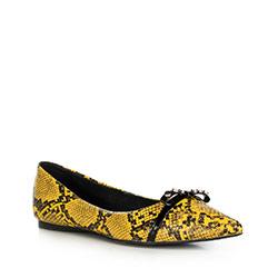 Buty damskie, żółto - czarny, 90-D-905-Y-36, Zdjęcie 1